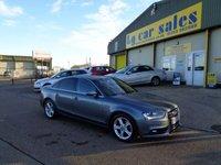 USED 2012 12 AUDI A4 2.0 TDI SE 4d AUTO 141 BHP