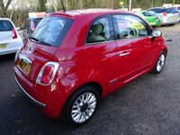 USED 2015 64 FIAT 500 0.9 TWINAIR LOUNGE 3d 85 BHP One Lady Owner from new, Comprehensive Service History (Fiat + ourselves), MOT until January 2019 (no advisories), Great on fuel economy! FREE Road Tax!