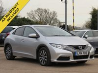 USED 2014 14 HONDA CIVIC 1.6 I-DTEC SE 5d 118 BHP *AA DEALER PROMISE DRIVE AWAY TODAY*