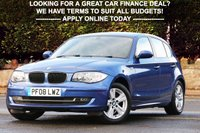 USED 2008 08 BMW 1 SERIES 1.6 116I SE 5d 121 BHP +++ FREE 6 months Autoguard Warranty included in screen price +++