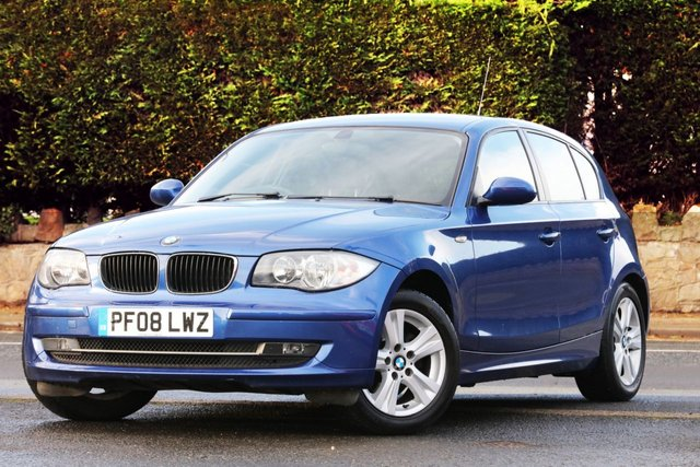 2008 08 BMW 1 SERIES 1.6 116I SE 5d 121 BHP