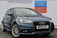 USED 2016 16 AUDI A1 1.4 SPORTBACK TFSI S LINE 5d 148 BHP ONE OWNER FROM NEW