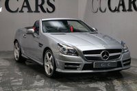USED 2013 63 MERCEDES-BENZ SLK 1.8 SLK200 BLUEEFFICIENCY AMG SPORT 2d AUTO 184 BHP FULL HEATED LEATHER AIR SCARF SAT NAV PAN ROOF B/TOOTH