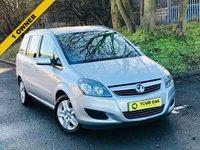 2012 VAUXHALL ZAFIRA 1.6 EXCLUSIV 5d 113 BHP £5500.00