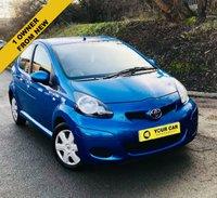 2010 TOYOTA AYGO 1.0 BLUE VVT-I 5d AUTO 67 BHP £4695.00