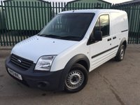 USED 2013 13 FORD TRANSIT CONNECT 1.8 T200 LR VDPF 1d 89 BHP CARGO LINING N/S DOOR ONE OWNER NO FINANCE REPAYMENTS FOR 2 MONTHS STC. (COMMERCIAL £5400+1080VAT). WHITE WITH GREY CLOTH TRIM. 2 SEATER. BULKHEAD. CARGO LINING. N/S LOADING DOOR. BLUETOOTH PREP. AIR CON. R/CD PLAYER. MOT 01/19. ONE OWNER FROM NEW. FULL SERVICE HISTORY. FCA FINANCE APPROVED DEALER. TEL 01937 849492.