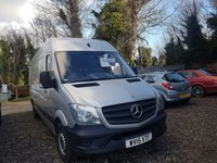 USED 2015 15 MERCEDES-BENZ SPRINTER 2.1 313 CDI LWB 1d 129 BHP SUPERB CONDITION THROUGHOUT READY FOR WORK
