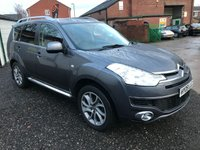 2009 CITROEN C-CROSSER 2.2 EXCLUSIVE HDI 5d 155 BHP £6250.00