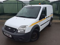 USED 2012 62 FORD TRANSIT CONNECT 1.8 T200 LR VDPF 1d 109 BHP AIR CON CARGO LINING N/S DOOR ONE OWNER FSH NO FINANCE REPAYMENTS FOR 2 MONTHS STC. (COMMERCIAL £4400+880VAT). WHITE WITH GREY CLOTH TRIM. AIR CON. 2 SEATER. BULKHEAD. CARGO LINING. N/S & O/S LOADING DOORS. PARKING SENSORS. BLUETOOTH PREP. R/CD PLAYER. MOT 09/18. ONE OWNER FROM NEW. FULL SERVICE HISTORY. FCA FINANCE APPROVED DEALER. TEL 01937 849492.