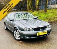 2003 JAGUAR X-TYPE 2.1 V6 4d 157 BHP £2500.00