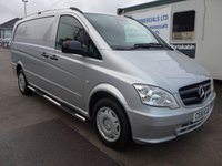 2011 MERCEDES-BENZ VITO 113 CDI LWB, 136 BHP [EURO 5], AIR CONDITIONING, SIDE STEPS £SOLD