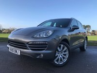 USED 2010 10 PORSCHE CAYENNE 3.0 D V6 TIPTRONIC S 5d AUTO 240 BHP 2 OWNER GREAT SPEC WITH SUNROOF SAT NAV HEATED SEATS BACKED UP BY FULL PORSCHE HISTORY
