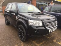 USED 2010 10 LAND ROVER FREELANDER 2.2 TD4 SPORT LE 5 DOOR AUTO 159 BHP IN BLACK WITH ONLY 51000 MILES. APPROVED CARS ARE PLEASED TO OFFER THIS LAND ROVER FREELANDER 2.2 TD4 SPORT LE 5 DOOR AUTOMATIC 159 BHP IN BLACK WITH A LOW 51000 MILES WITH A FULL SERVICE HISTORY WITH 3 STAMPS IN THE SERVICE BOOK IN IMMACULATE CONDITION INSIDE AND OUT.TO RESERVE THIS CAR CALL 01622871555 AND ASK FOR ONE OF OUR SALES TEAM.