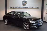 USED 2013 63 MERCEDES-BENZ C CLASS 2.1 C220 CDI BLUEEFFICIENCY EXECUTIVE SE 4DR 168 BHP + FULL BLACK LEATHER INTERIOR + FULL MERC SERVICE HISTORY + 1 OWNER FROM NEW + SAT NAV PREP + BLUETOOTH + HEATED SEATS + RAIN SENSORS + CRUISE CONTROL + PARKING SENSORS + 16 INCH ALLOY WHEELS +
