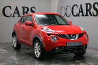 USED 2016 66 NISSAN JUKE 1.2 ACENTA DIG-T 5d 115 BHP ONE LADY OWNER BLUETOOTH AS NEW CONDITION THROUGHOUT