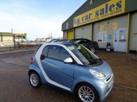 USED 2011 61 SMART FORTWO 1.0 Coupe PASSION MHD