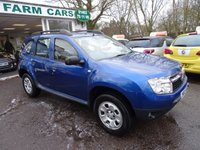 USED 2013 13 DACIA DUSTER 1.5 AMBIANCE DCI 5d 107 BHP New Cambelt, One Owner from new, Just Serviced by ourselves, MOT until August 2018, 6 Speed Gearbox, Diesel, Great on fuel economy!