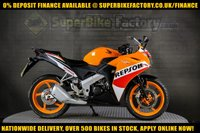 USED 2016 16 HONDA CBR125 R GOOD & BAD CREDIT ACCEPTED, OVER 500+ BIKES IN STOCK
