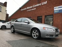 USED 2010 60 VOLVO S80 2.0 D3 SE 4d 161 BHP Full service history, Full leather upholstery,        Heated front seats,        Bluetooth,        Rear parking sensors