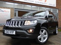 2013 JEEP COMPASS 2.1 CRD LIMITED 4WD 5d 161 BHP £SOLD