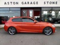 USED 2015 15 BMW 1 SERIES 1.6 120I M SPORT 3d AUTO 167 BHP **LOW MILES * BIG SPEC ** ** PRO NAV * HARMON KARDON * HEATED LEATHER **