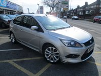 USED 2009 09 FORD FOCUS 2.0 ZETEC S TDCI 3d 135 BHP Full Service History , Excellent Condition & a Lovely Specification