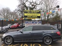 USED 2012 12 MERCEDES-BENZ E CLASS 5.5 E63 AMG 5d AUTO 518 BHP STUNNING TENORITE GREY PAINT WORK, LUXURY LIGHT GREY NAPPA  LEATHER SEATS, PANORAMIC GLASS SUN ROOF, FULL SERVICE HISTORY, MEMORY ELECTRIC HEATED SEATS, SAT NAV , 19 INCH TWIN SPOKE AMG ANTHRACITE ALLOY WHEELS, GOOD TYRES, POWER TAIL GATE, FRONT AND REAR,PDC, REVERSE CAMERA