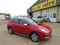2014 PEUGEOT 3008 1.6 HDI ACTIVE £8495.00