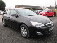 USED 2010 59 VAUXHALL ASTRA 1.7 EXCLUSIV CDTI 5DR FSH 1OWNER FULL SERVICE HISTORY 6 SPEED