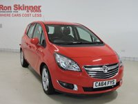 USED 2014 64 VAUXHALL MERIVA 1.4 TECH LINE 5d 99 BHP with front/rear parking sensors