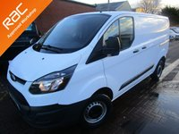USED 2013 13 FORD TRANSIT CUSTOM 2.2 270 LR P/V 1d 99 BHP ONE OWNER 2 KEYS CHEAPEST IN THE UK