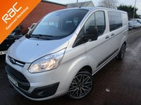 USED 2013 13 FORD TRANSIT CUSTOM 2.2 310 TREND LR DCB 1d 124 BHP BUY FOR ONLY £62 A WEEK *FINANCE* £0 DEPOSIT AVAILABLE