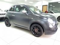USED 2011 11 FIAT 500 1.2 Matt Black 3dr FINANCE ARRANGED+£30 YEAR TAX+