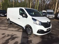 USED 2016 16 RENAULT TRAFIC 1.6 LL29 BUSINESS PLUS ENERGY DCI S/R P/V 120 BHP Air Conditioning, Bluetooth