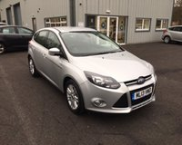 USED 2013 13 FORD FOCUS 1.0 TITANIUM NAVIGATOR ECOBOOST 125 BHP THIS VEHICLE IS AT SITE 2 - TO VIEW CALL US ON 01903 323333