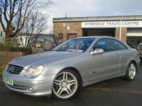 USED 2002 02 MERCEDES-BENZ CLK 3.2 CLK320 AVANTGARDE 2d AUTO 218 BHP 1 OWNER FROM NEW+GREAT VALUE