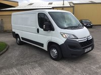 2014 CITROEN RELAY 2.2 3500kg L2 H1 ENTERPRISE HDI 129 BHP Panel Van £6500.00