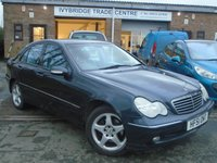 USED 2001 51 MERCEDES-BENZ C CLASS 3.2 C320 AVANTGARDE 4d AUTO 218 BHP GREAT VALUE+NEW MOT ON SALE