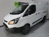 USED 2013 13 FORD TRANSIT CUSTOM 2.2 270 LR P/V 1d 99 BHP BUY FOR ONLY £40 A WEEK *FINANCE* £0 DEPOSIT AVAILABLE