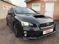 USED 2014 SUBARU WRX 2.5 STI TYPE UK 4d 300 BHP
