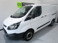 USED 2013 63 FORD TRANSIT CUSTOM 2.2 270 LR P/V 1d 99 BHP BUY FOR ONLY £40 A WEEK *FINANCE* £0 DEPOSIT AVAILABLE