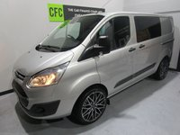 USED 2013 13 FORD TRANSIT CUSTOM 2.2 310 TREND LR DCB 1d 124 BHP BUY FOR ONLY £60 A WEEK *FINANCE* £0 DEPOSIT AVAILABLE