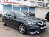 USED 2014 63 MERCEDES-BENZ E CLASS 3.0 E350 BLUETEC AMG SPORT 4d 7G - Tronic  Full Mercedes History, Sat Nav, Half Leather, MOT 22.5.19