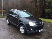 USED 2013 13 VAUXHALL ANTARA 2.2 EXCLUSIV CDTI 4WD S/S 5d 161 BHP 6 MONTHS PARTS+ LABOUR WARRANTY+AA COVER