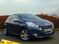 USED 2013 PEUGEOT 208 1.4 ALLURE 3dr SATELLITE NAVIGATION*128 POINT AA INSPECTION
