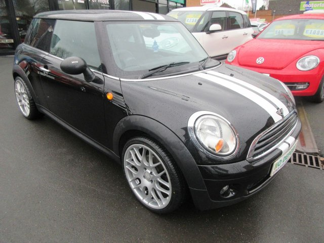 USED 2009 59 MINI HATCH ONE 1.4 ONE 3d 94 BHP JUST ARRIVED TEST DRIVE TODAY