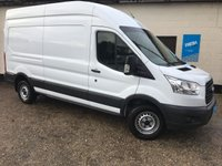 USED 2016 16 FORD TRANSIT 2.2 350 L3H3 High Roof Panel Van LWB * 0% Deposit Finance Available