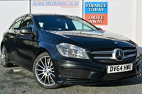 USED 2014 64 MERCEDES-BENZ A CLASS 1.5 A180 CDI BLUEEFFICIENCY AMG SPORT 5d 109 BHP COMPREHENSIVE SERVICE HISTORY