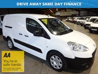 "USED 2013 63 PEUGEOT PARTNER 1.6 HDI CRC 90 BHP 5 SEAT CREW VAN - LOW MILEAGE - ""YOU'RE IN SAFE HANDS"" - AA DEALER PROMISE"