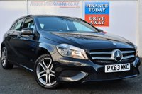 USED 2013 63 MERCEDES-BENZ A CLASS 1.5 A180 CDI BLUEEFFICIENCY SPORT 5d 109 BHP BUY NOW 1ST PAYMENT IN 6 MONTHS